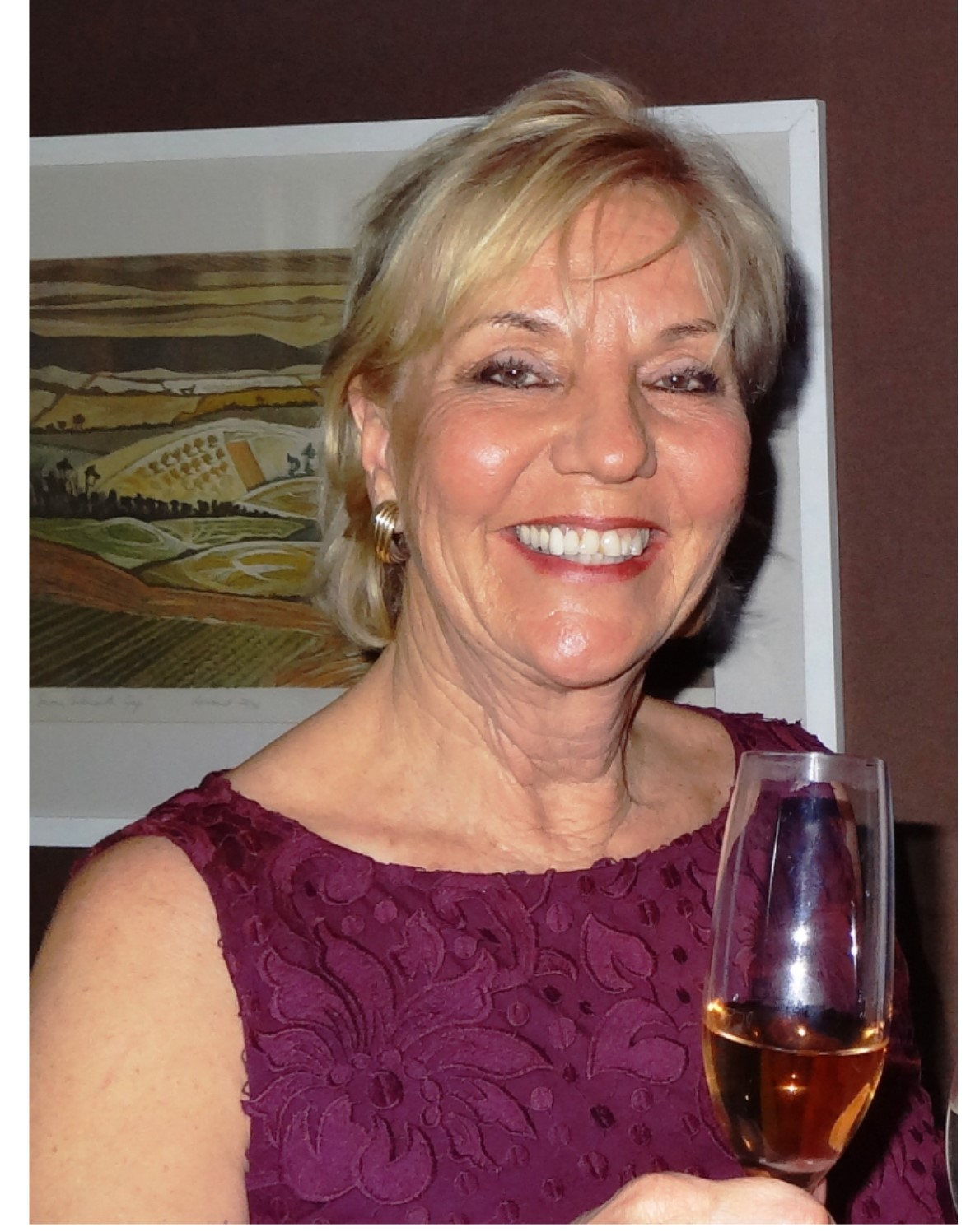 A glass of wine with Sibylla Tindale