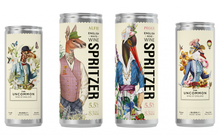 Perfect for picnics: English wine spritzers in a can