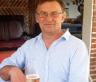 A glass of wine with Jonathan Piggins