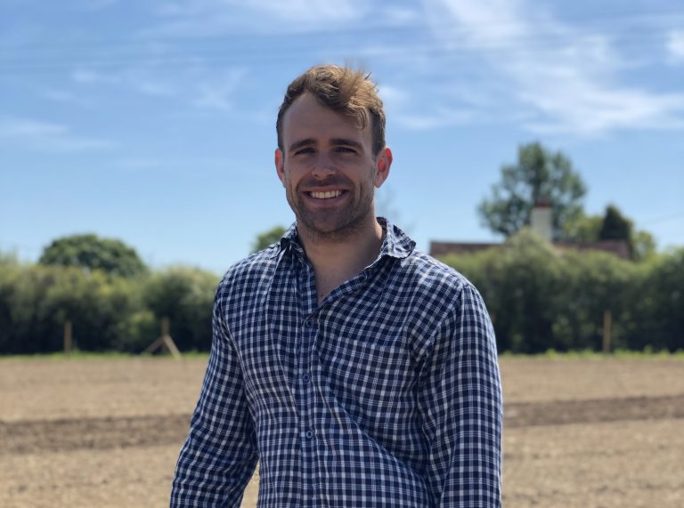 A glass of wine with Joe Beckett – England's youngest vineyard owner